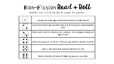 Fiction and Nonfiction Read and Roll