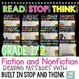 Reading Comprehension Passages and Questions 1st/2nd Grade ~ BUNDLE