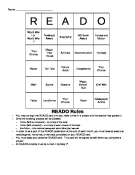Fiction and Nonfiction Reading Game