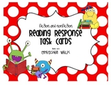 Fiction and Nonfiction Reading Response Task Cards Common