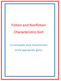 Fiction and Nonfiction Sort