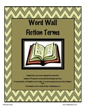 Fiction and Nonfiction Word Wall Bundle