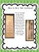 Fiction or Informational Text? (a record keeping bookmark)