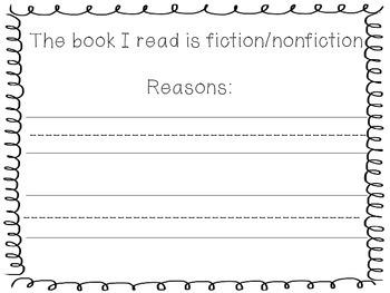 Fiction or Nonfiction