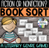 Fiction or Nonfiction? - A Book Title Sort