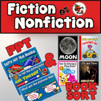 Fiction or Nonfiction PPT and Book Sort