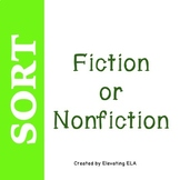 Fiction or Nonfiction Sort