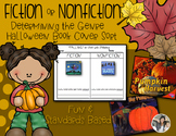 Fiction or Nonfiction Sort {Halloween Fall Book Covers}