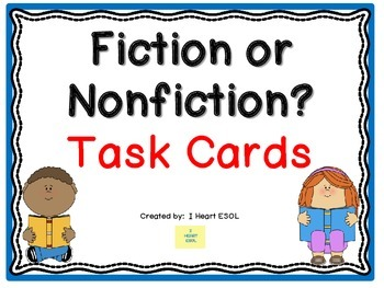 Fiction or Nonfiction? Task Cards