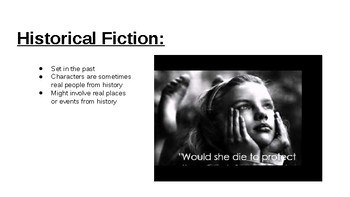 Fiction  powerpoint