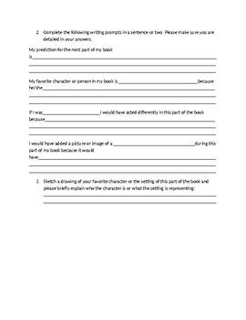 Fiction reading response homework
