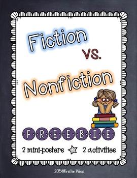 Fiction versus Nonfiction (FREEBIE)