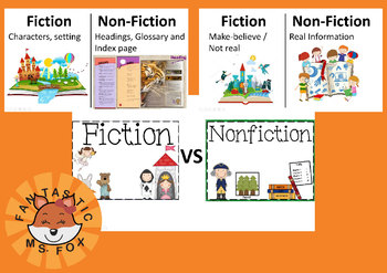 Fiction vs Non-Fiction Power Point Slides