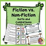 Fiction vs. Non-Fiction Sorts & Comparisons: Differentiated
