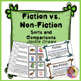 Fiction vs. Non-Fiction Sorts & Comparisons: Differentiated