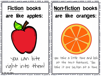 Fiction vs. Non-fiction Poster