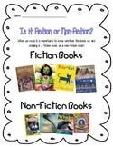 Fiction vs. Non-fiction Texts