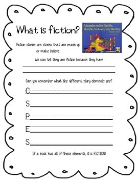 Fiction vs. Non-fiction Texts