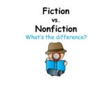 Fiction vs. Nonfiction (PowerPoint)