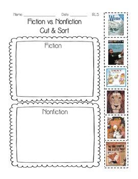 Fiction vs. Nonfiction 1.RL.5