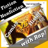 Superhero Reading Comprehension: Fiction vs Nonfiction Worksheet Activities