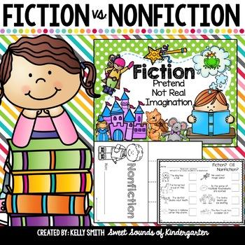 Fiction vs. Nonfiction- Activities Unit!