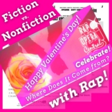 The History of Valentine's Day Fiction vs Nonfiction Activ