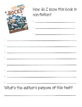Fiction vs. Nonfiction- Common Core text suggested trade books