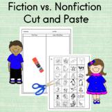 Fiction vs. Nonfiction Cut and Paste