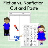 Fiction vs. Nonfiction Cut and Paste