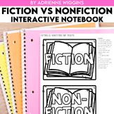 Fiction vs. Nonfiction Interactive Notebook (Google Classr