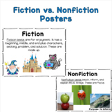 Fiction vs. Nonfiction Posters