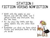 Fiction vs Nonfiction Sort