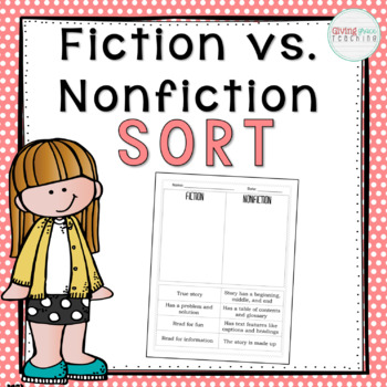 Fiction vs. Nonfiction Sort