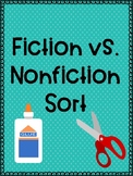 Fiction vs. Nonfiction Sort