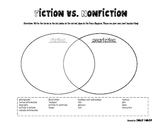 Fiction vs. Nonfiction Venn Diagram Worksheet