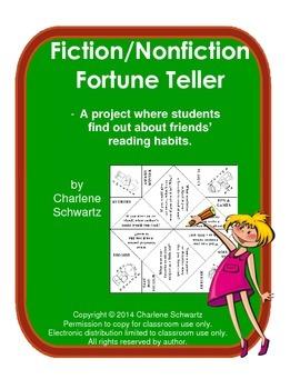 Fiction/Nonfiction Fortune Teller or Cootie Catcher