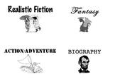 Fiction/Nonfiction Genre Cards - Sorting Activity