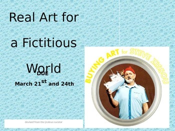 Fictional Art Collector Project