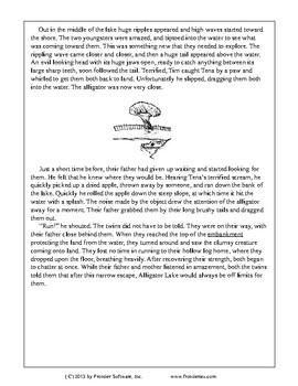Fictional Book Stories-A Narrow Escape