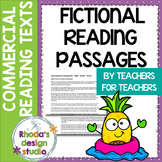 Fictional Close Reading Passages for Commercial Use - Lexile Level 900