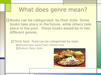 Fictional Genres