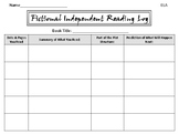 Fictional Independent Reading Log