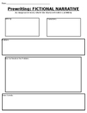 Fictional Narrative Graphic Organizer