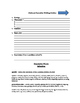 Fictional Narrative Packet - writing prompts, rubric, outline, study guides