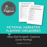 Fictional Narrative Planning Organizers