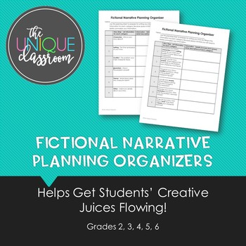 Fictional Narrative Planning Organizers
