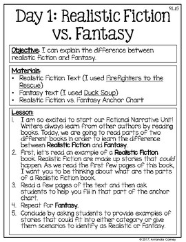 Fictional Narrative Unit