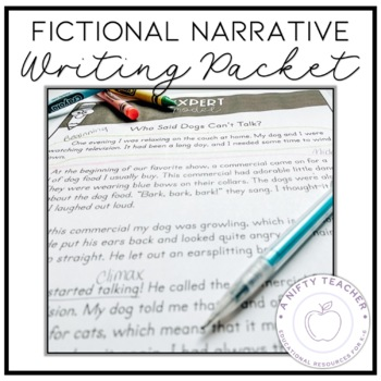 Fictional Narrative Writing Packet