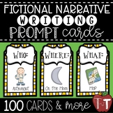 Fictional Narrative Writing Prompt Cards